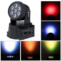 7x10W RGBW 4in1 LED Moving Head