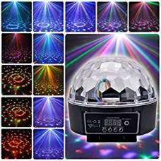 Lighting Digital LED RGB Crystal Magic Ball Effect