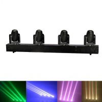 4X10W RGBW LED BEAM MOVING HEAD