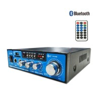 BT-138 səs gücləndirici Bluetooth / W / Usb / Sd / Fm / Digital Display / Mp3