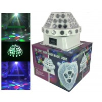 4 Eyes DMX Disco Stage LED Lights 30W RGBW Led Image Magic Light