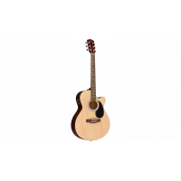 Akustik gitara Fender CD-60 CE BLK DS