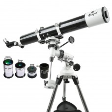 Gskyer EQ 80900 Teleskop, German technology telescope,