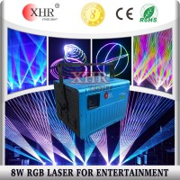XHR Outdoor Laser Projector / 8W RGB Laser Light
